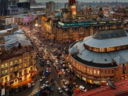 Kyiv, Ukraine, traffic jams, drivers, pieces of advice, recommendations, escape